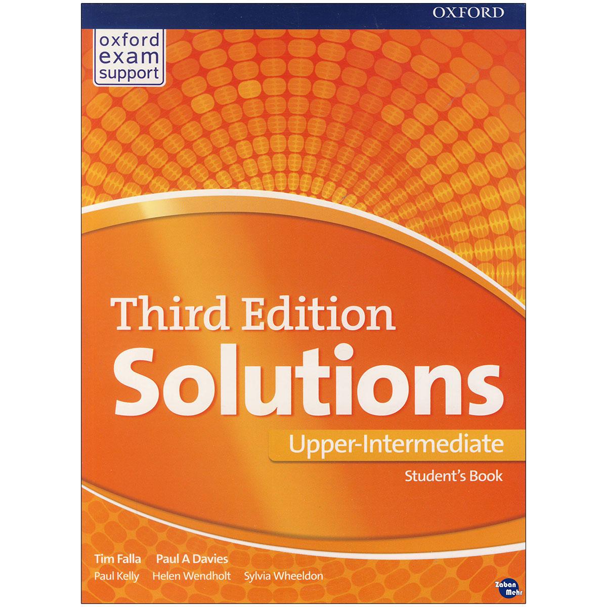 خرید                      کتاب Solutions Upper-Intermediate اثر Tim Falla Paul A. Davies انتشارات زبان مهر