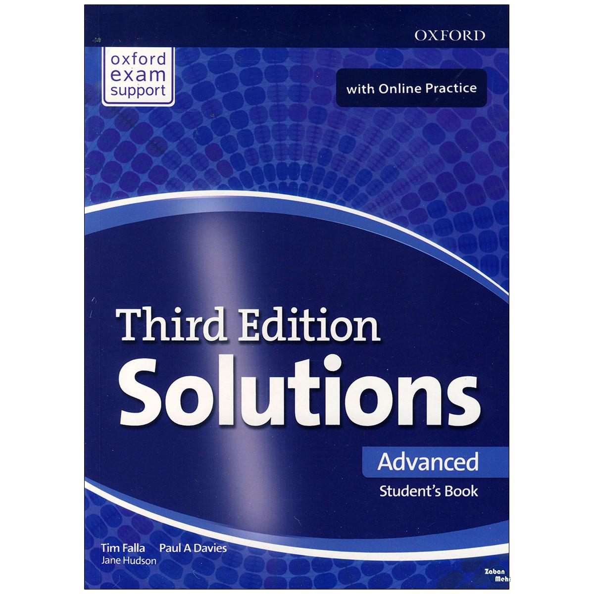 خرید                      کتاب Solutions Advanced اثر Tim Falla Paul A. Davies انتشارات زبان مهر
