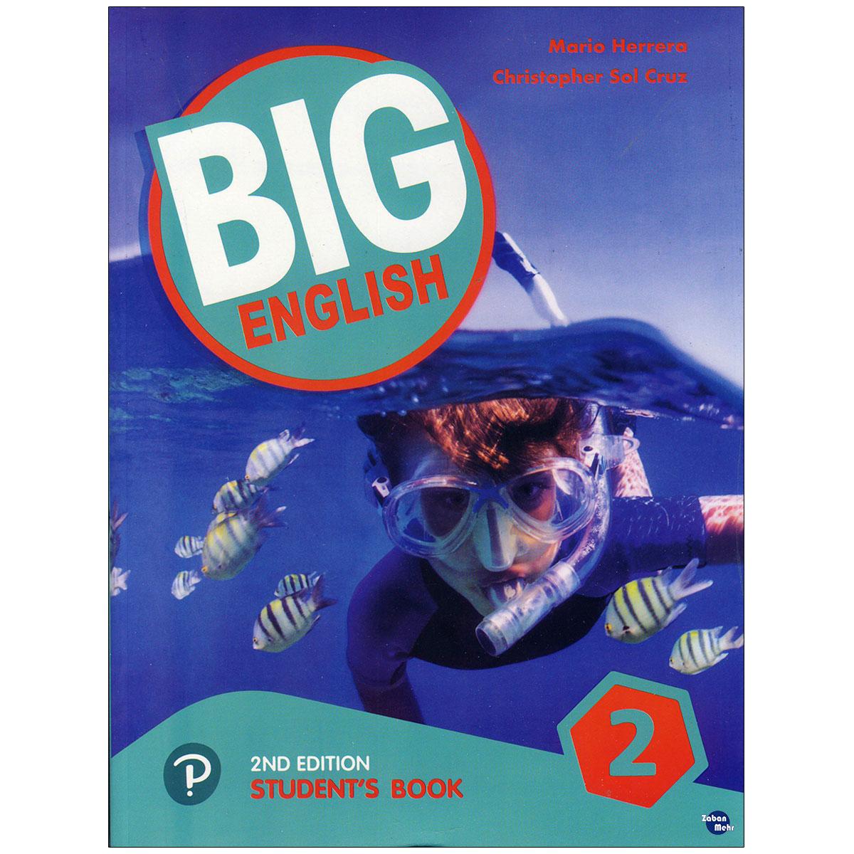 خرید                      کتاب Big English 2 اثر Mario Herrera and Christopher Sol Cruz انتشارات زبان مهر