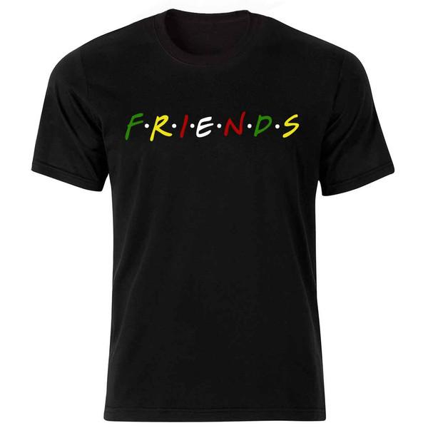 تیشرت مردانه طرح Friends کد 36090 BWRYG