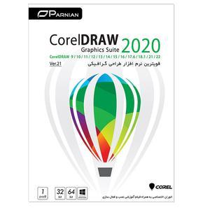 مجموعه نرم افزار Corel Draw 2020 Ver.21 نشر پرنیان