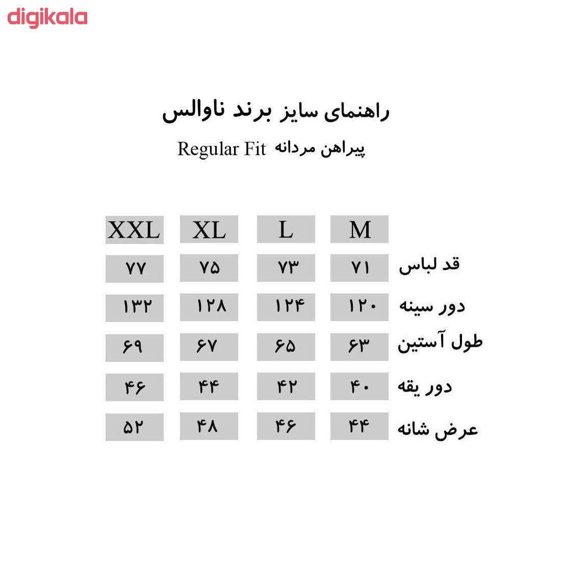 پیراهن مردانه ناوالس کد Tet-D-BL main 1 1