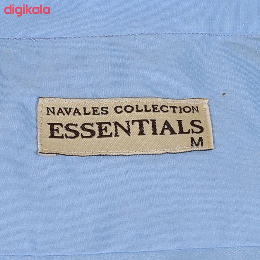 پیراهن مردانه ناوالس کد Tet-D-BL main 1 4