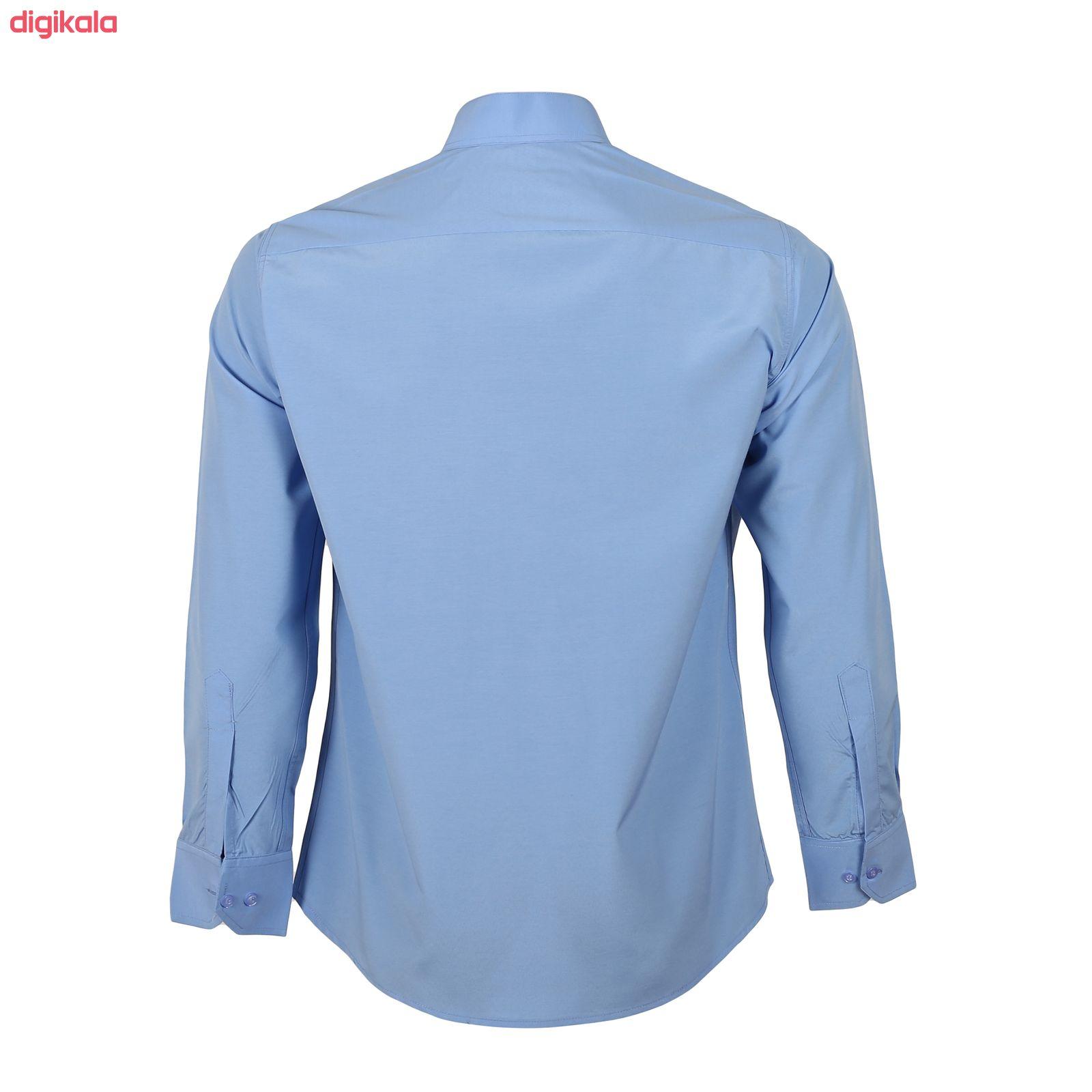 پیراهن مردانه ناوالس کد Tet-D-BL main 1 3