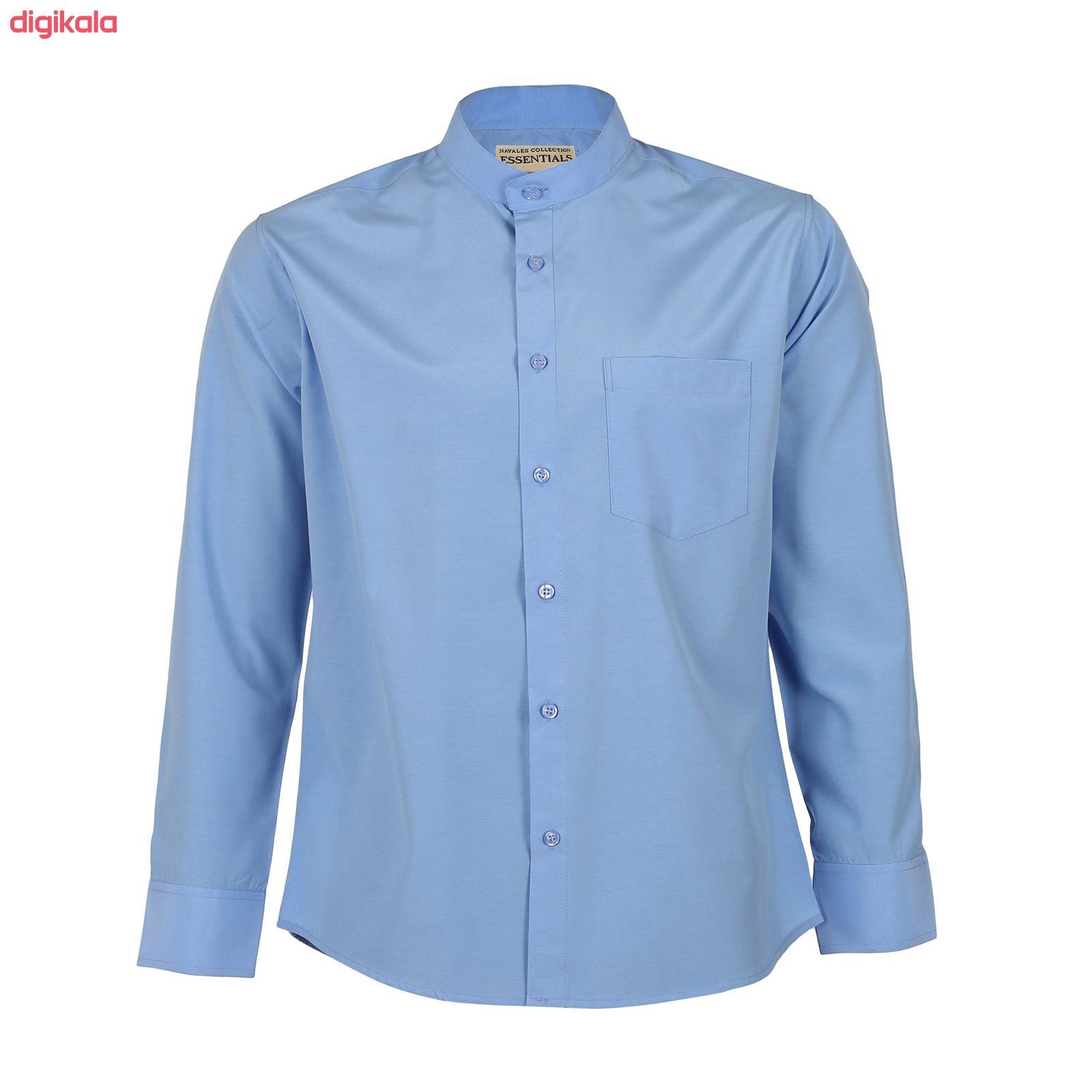 پیراهن مردانه ناوالس کد Tet-D-BL main 1 2