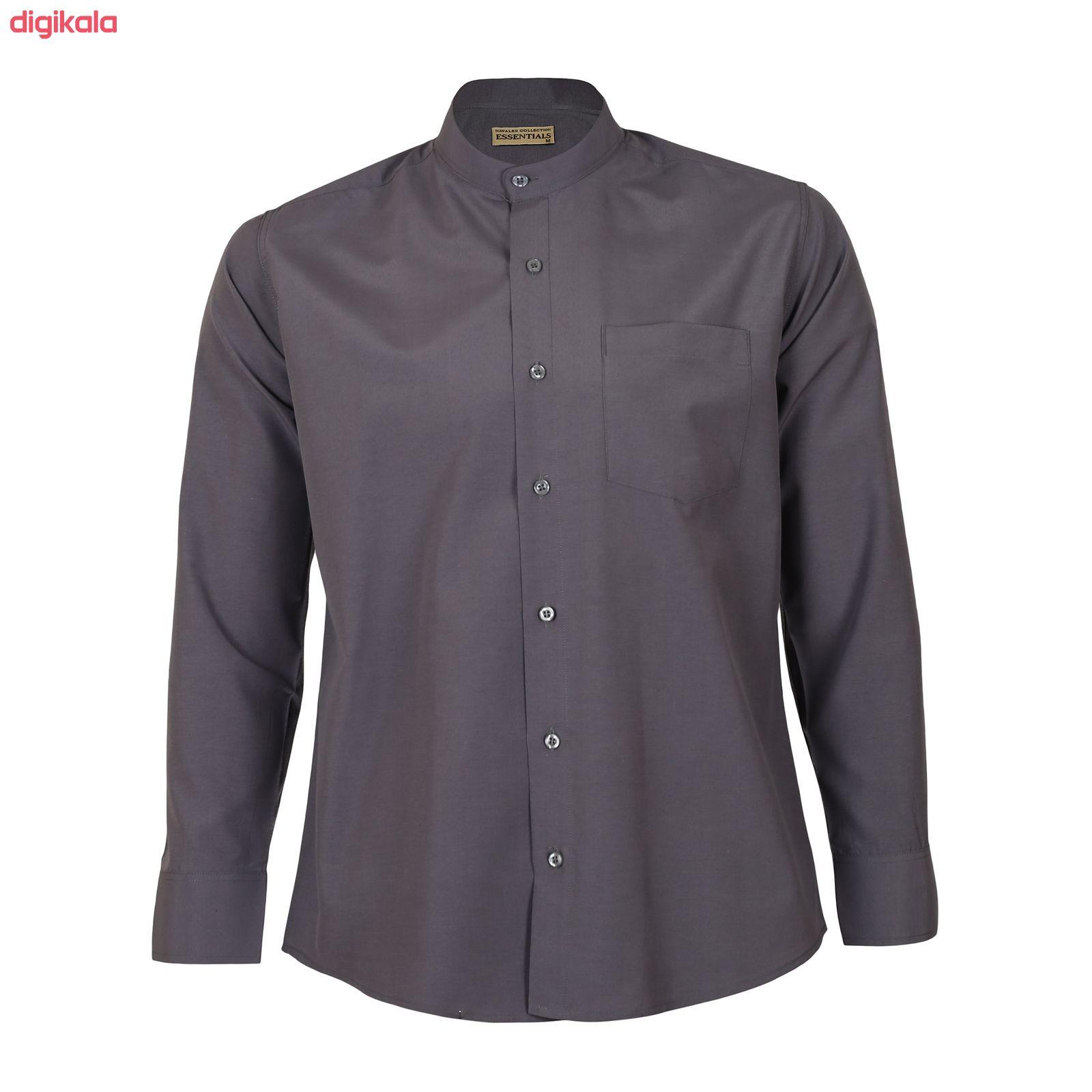 پیراهن مردانه ناوالس کد Tet-D-GY main 1 2