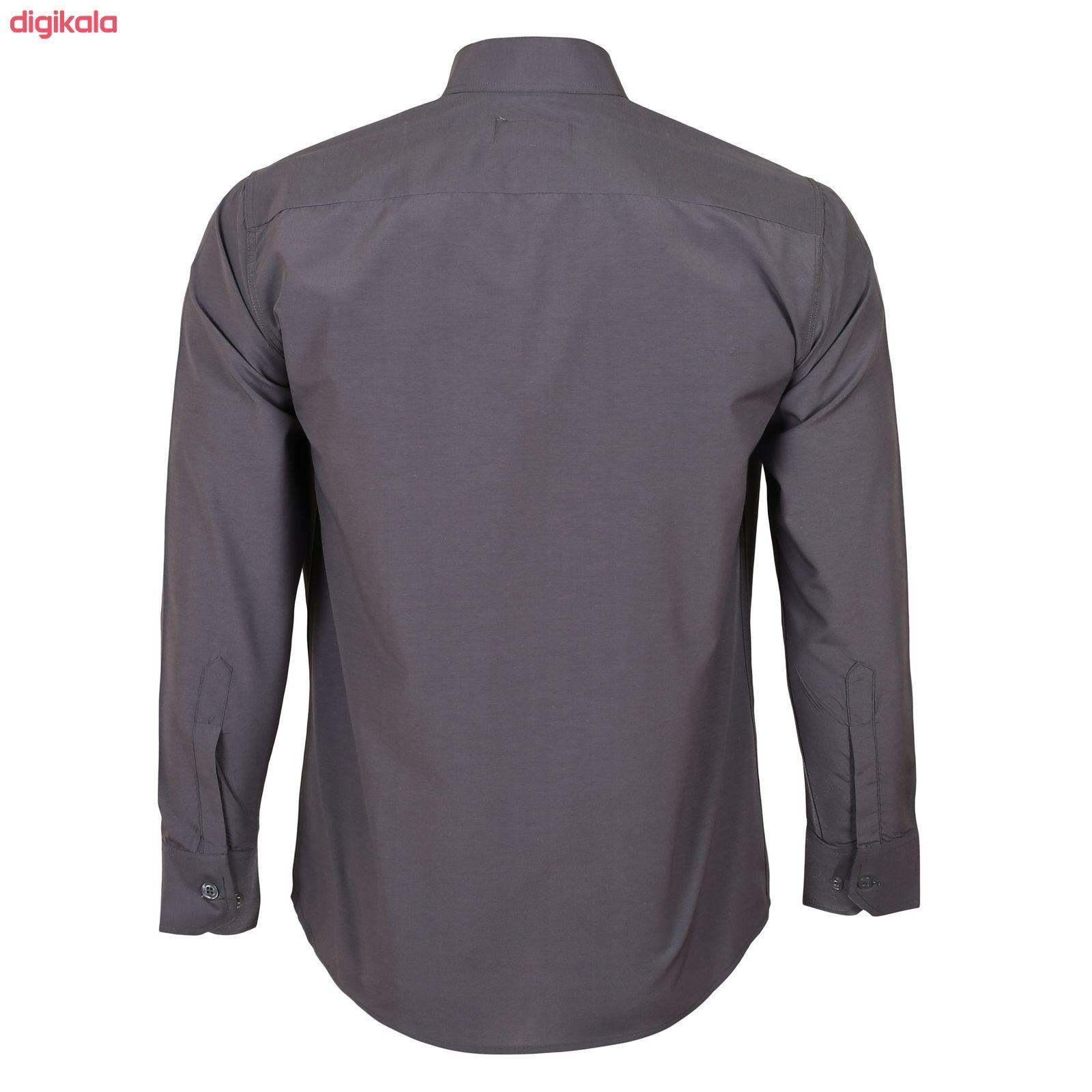 پیراهن مردانه ناوالس کد Tet-D-GY main 1 3