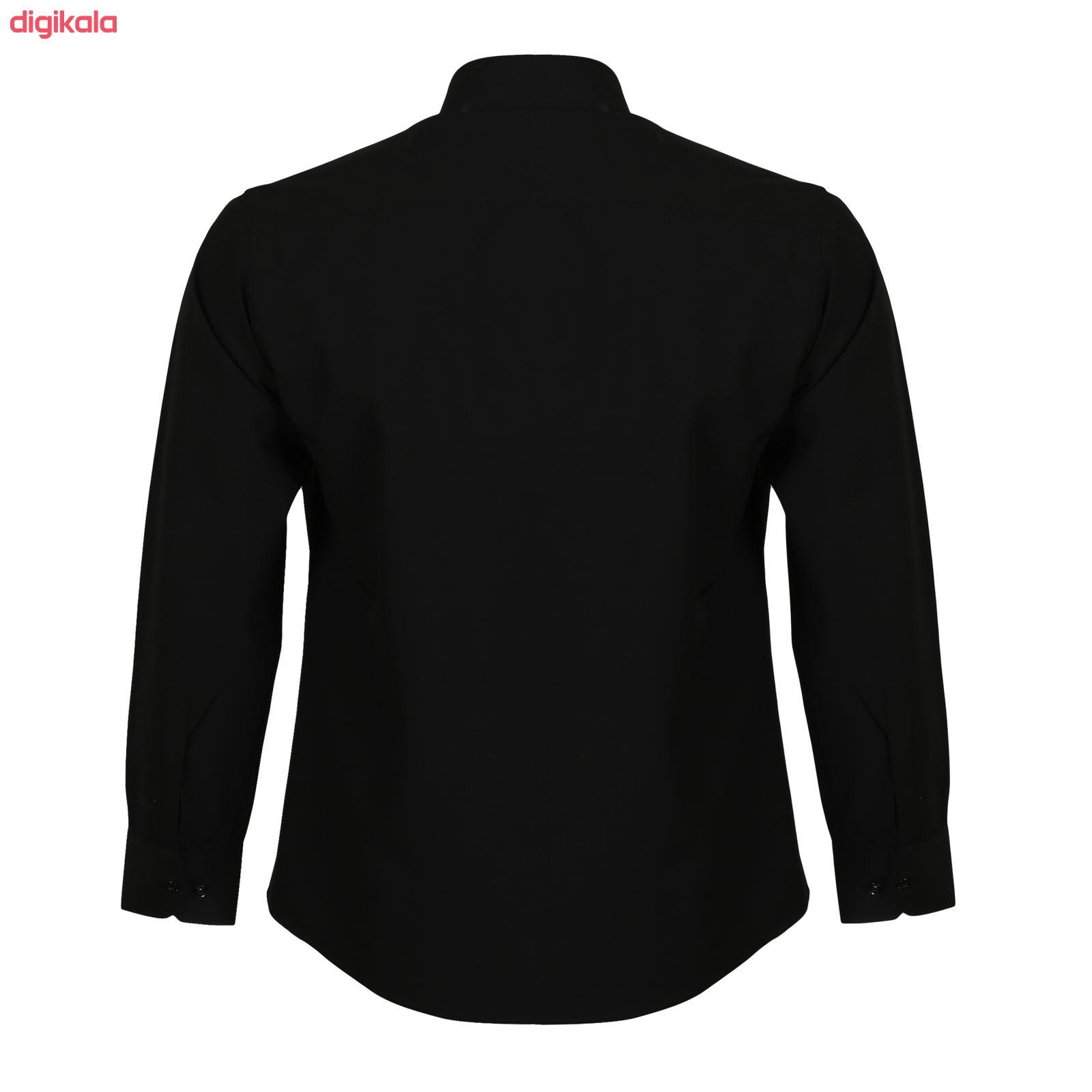 پیراهن مردانه ناوالس کد Tet-D-BK main 1 3