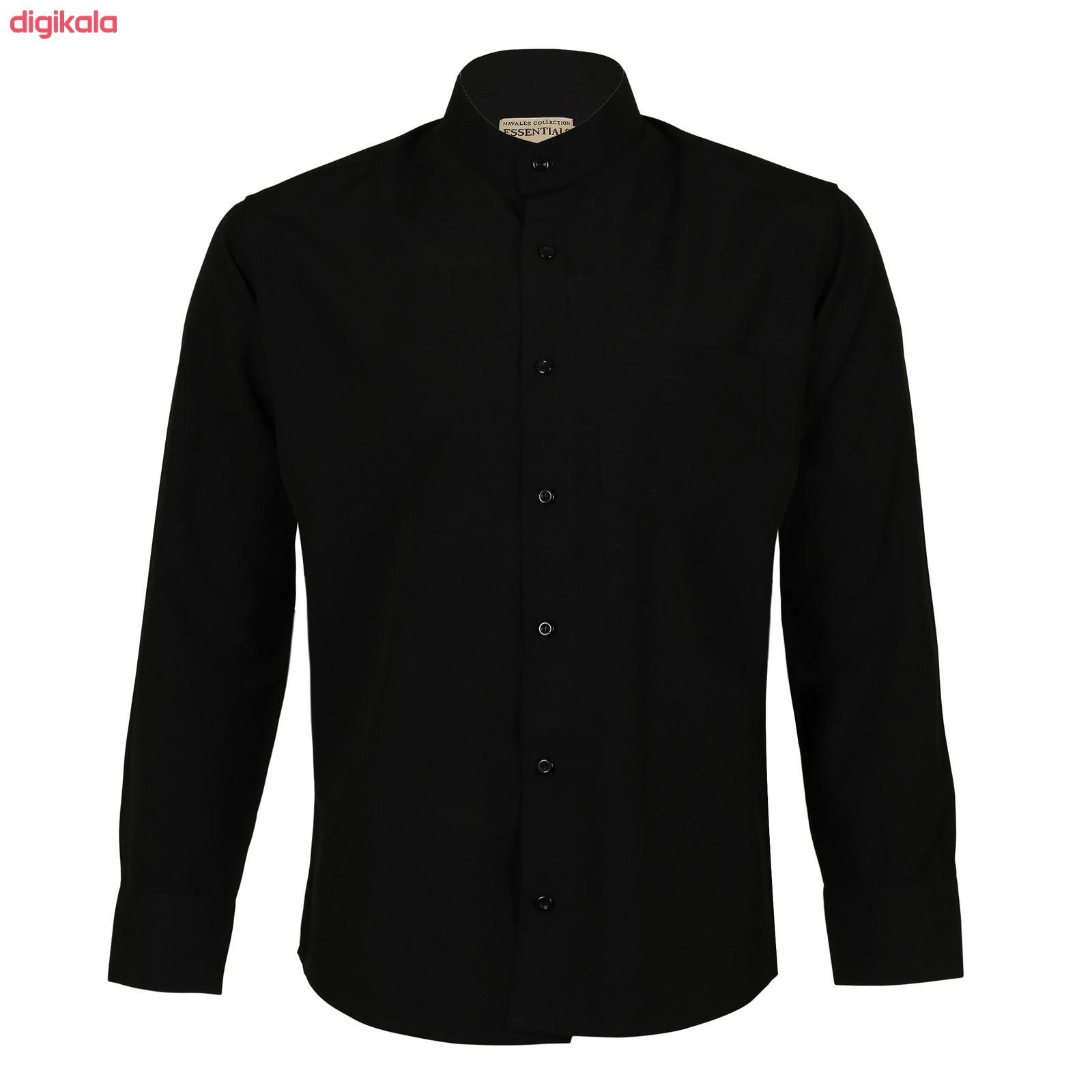 پیراهن مردانه ناوالس کد Tet-D-BK main 1 4