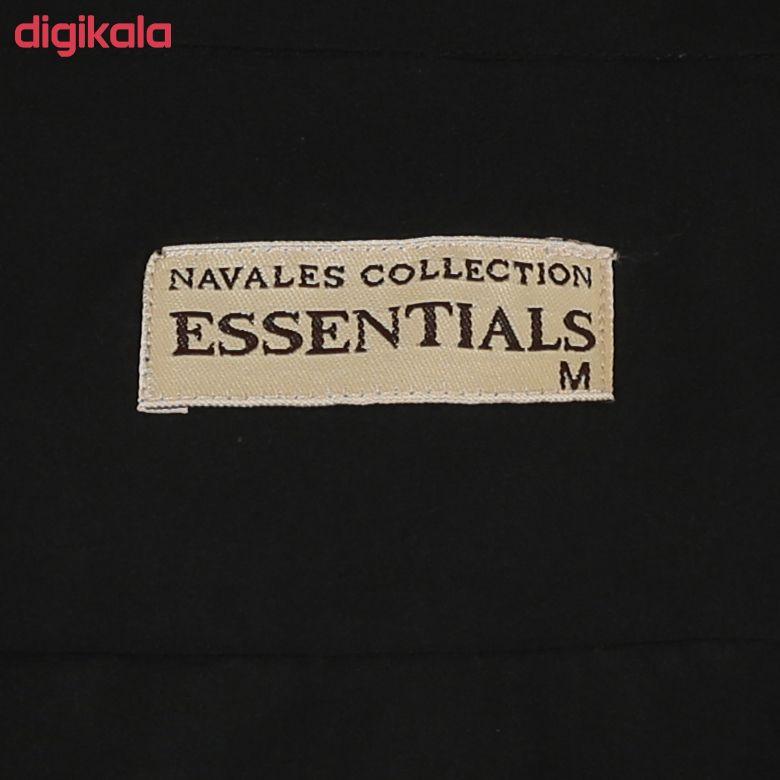 پیراهن مردانه ناوالس کد Tet-D-BK main 1 5