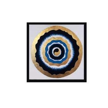 تابلو نقاشی طرح چشم نظر