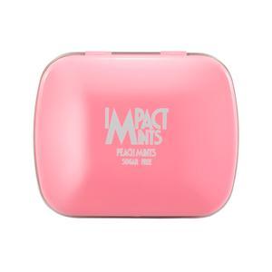 قرص خوشبوکننده دهان ایمپکت مینتز مدل Peach Mints وزن 14 گرم