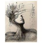 تابلو شاسی گالری استاربوی طرح نقاشی مدل هنری