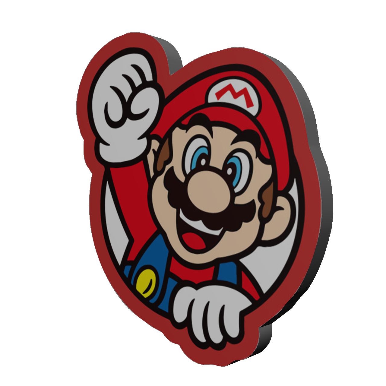 استیکر کنسول بازی مدل سوپر ماریو کد 597