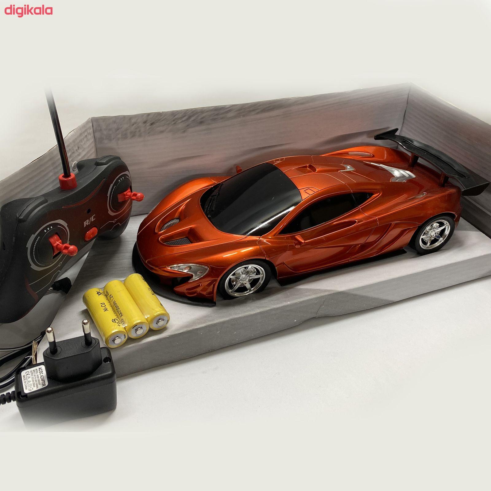 ماشین بازی کنترلی مدل Super Cars-001