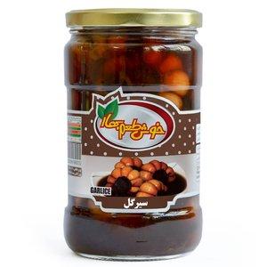 ترشی سیر گل خوش طعم بهار - 680 گرم