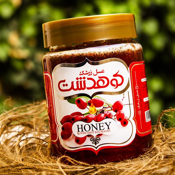 عسل زرشک کوهدشت- 600 گرم