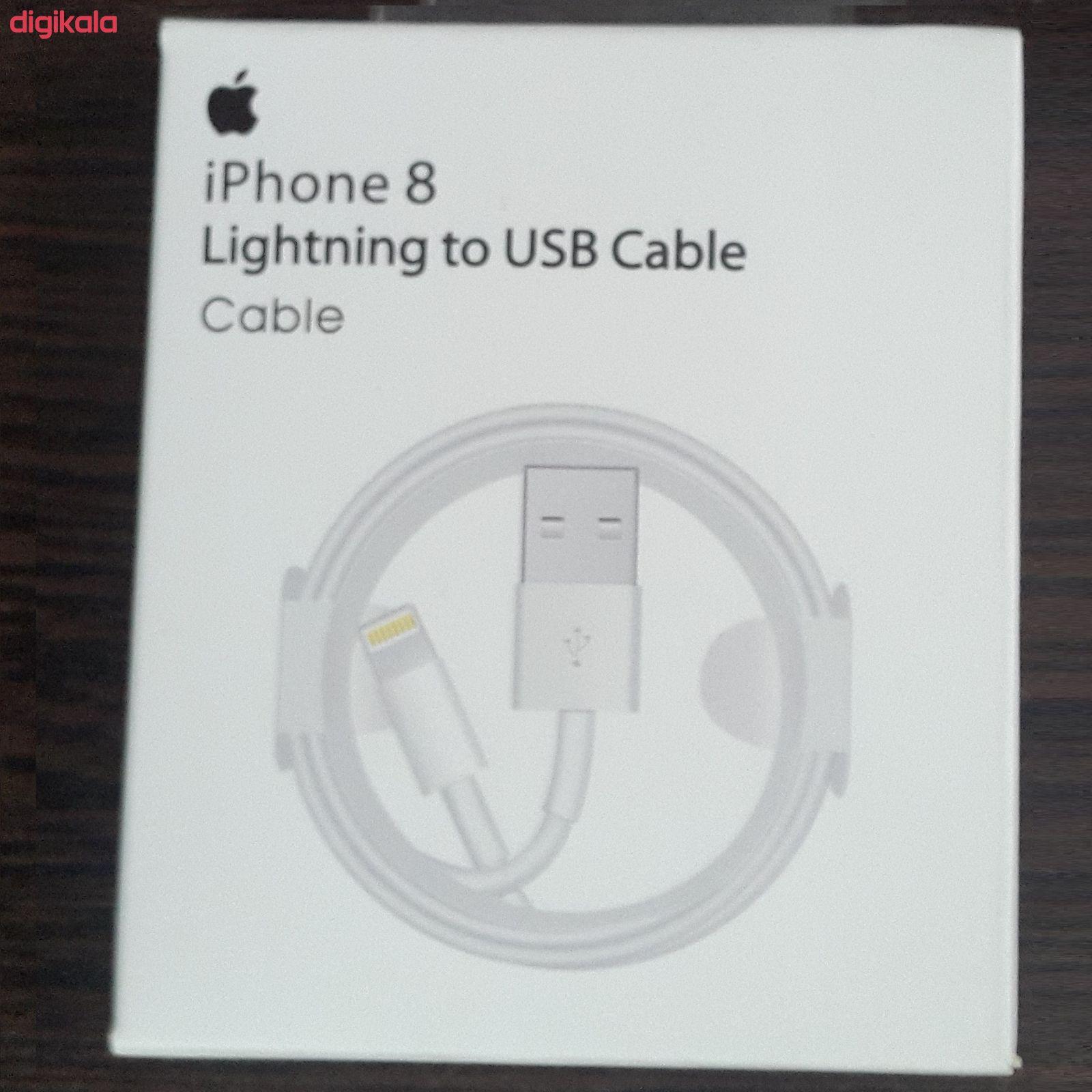 کابل تبدیل USB به لایتنینگ مدل MD818ZM/A طول 1متر main 1 4