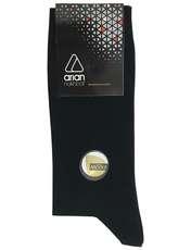 جوراب مردانه آریان نخ باف کد52217 بسته 3 عددی -  - 2