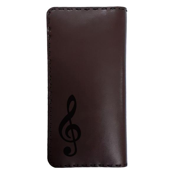 کیف پول مردانه طرح نت موسیقی