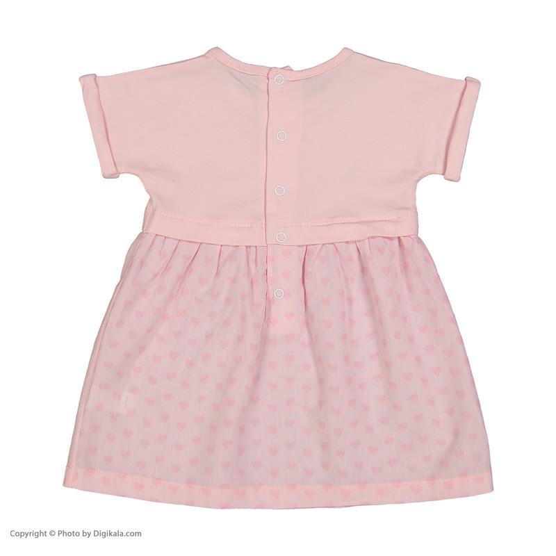 پیراهن نوزادی دخترانه پیانو مدل 05236-84