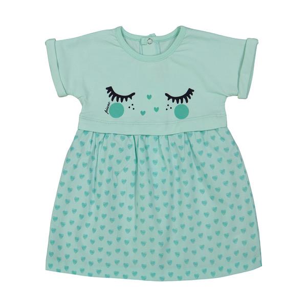 پیراهن نوزادی دخترانه پیانو مدل 05236-53