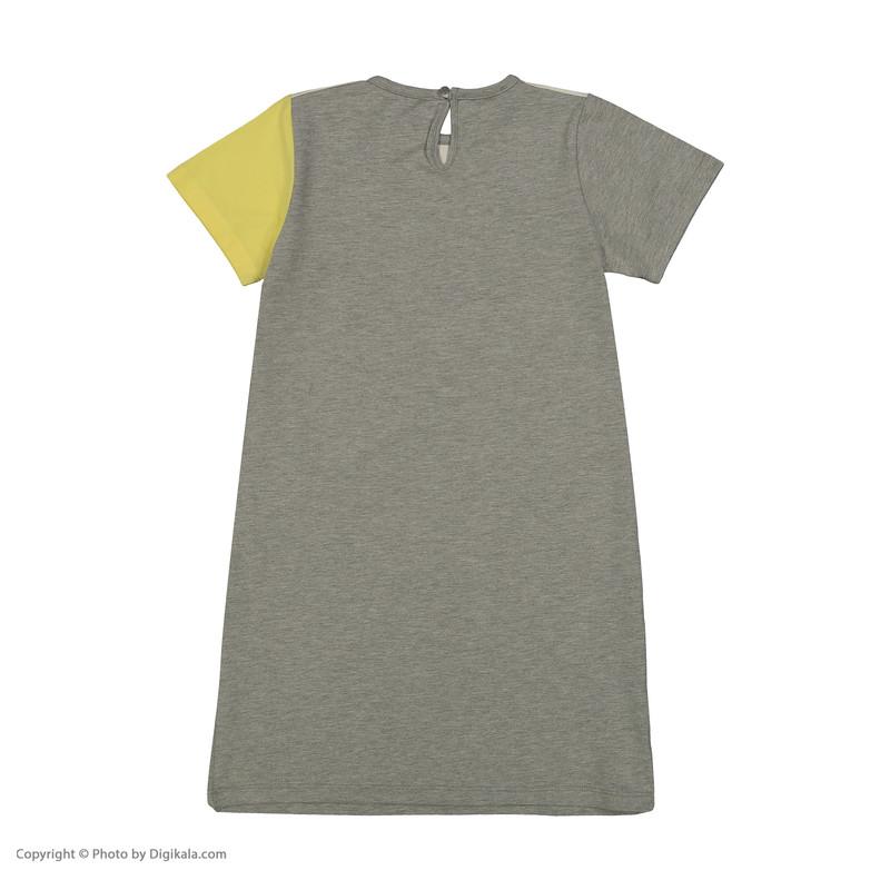 پیراهن دخترانه پیانو مدل 01400-16