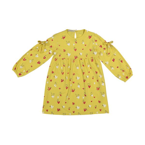 پیراهن دخترانه پیانو مدل 01214-16