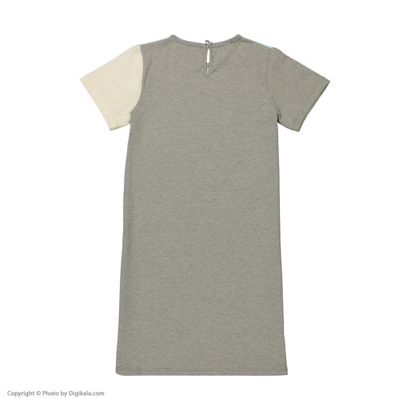 پیراهن دخترانه پیانو مدل 01400-53