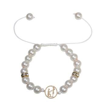 دستبند طلا 18 عیار زنانه کد NE11