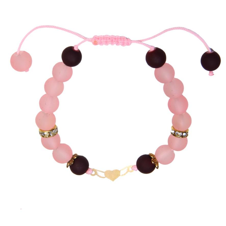 دستبند طلا 18 عیار زنانه کد NE12
