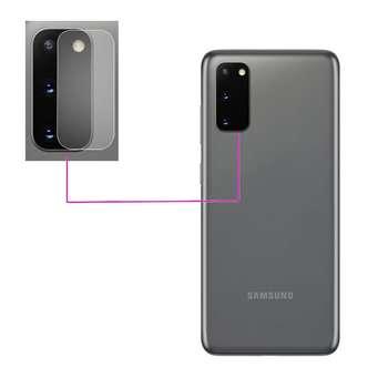 محافظ لنز دوربین مدل LTP مناسب برای گوشی موبایل سامسونگ Galaxy S20