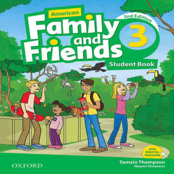 کتاب  American Family and Friends 3  اثر Naomi Simmons انتشارات OXFORD