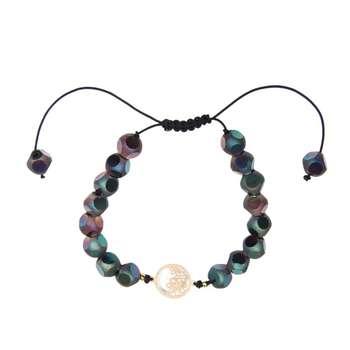 دستبند طلا 18 عیار زنانه کد NE13
