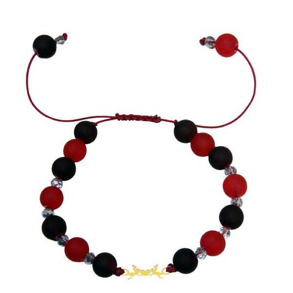 دستبند طلا 18 عیار زنانه کد NE14