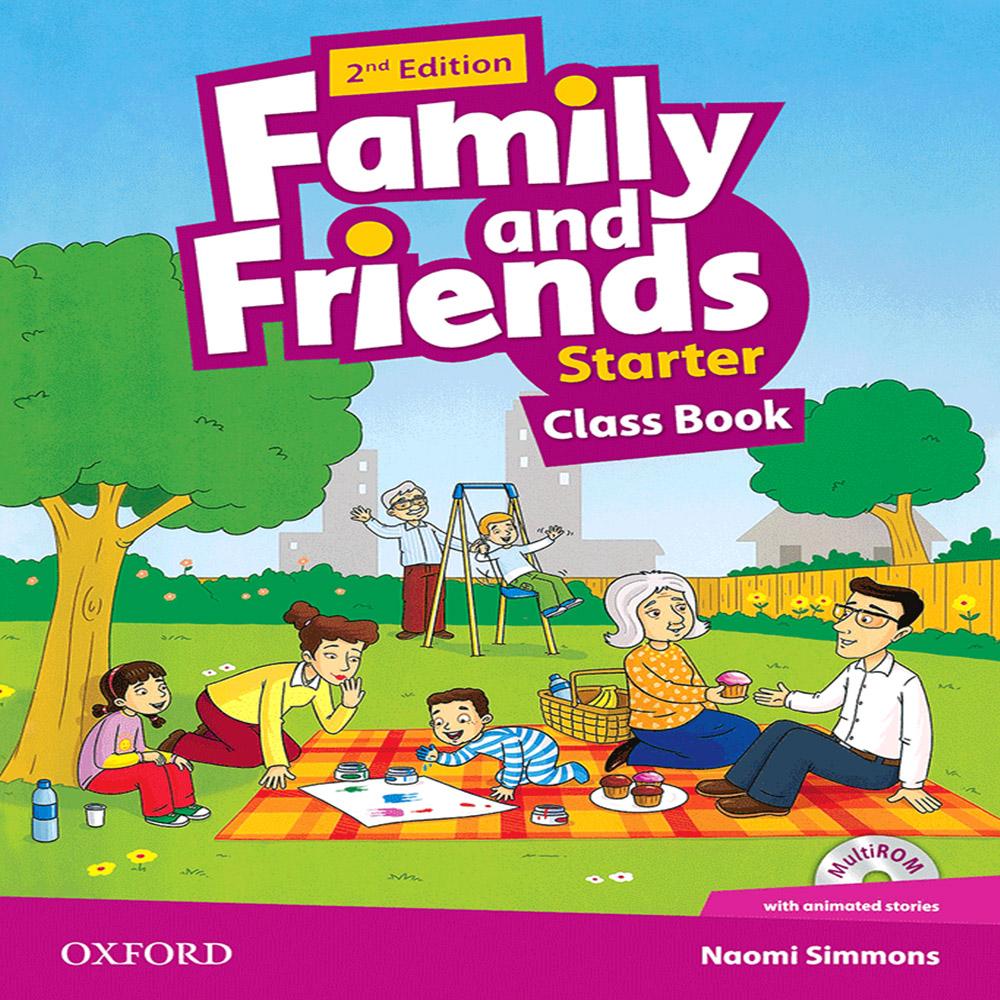 خرید                      کتاب Family and Friends Starter اثر Naomi Simmons انتشارات OXFORD