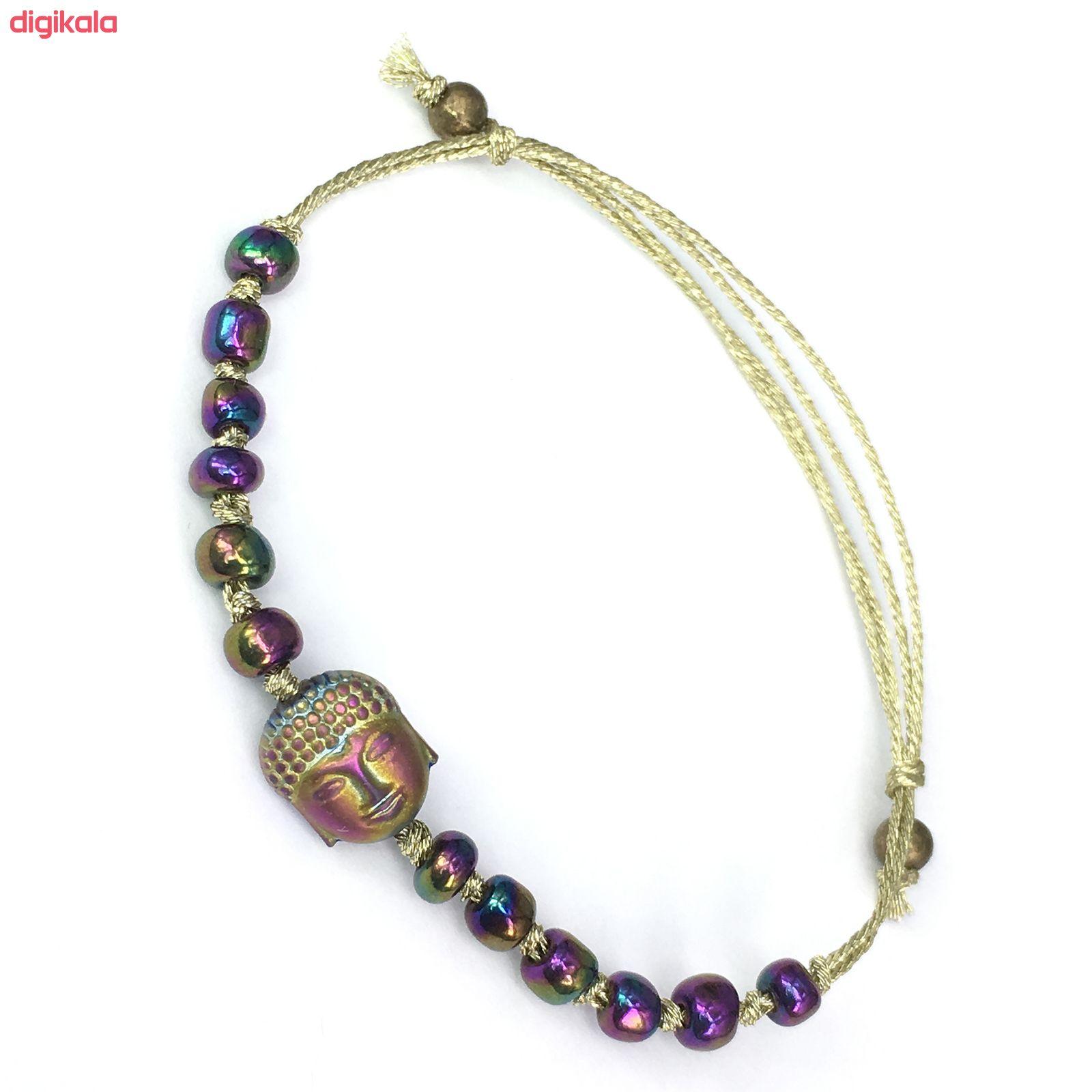 دستبند طرح بودا کد 050 main 1 1