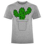 تی شرت آستین کوتاه مردانه طرح cactus کد X02