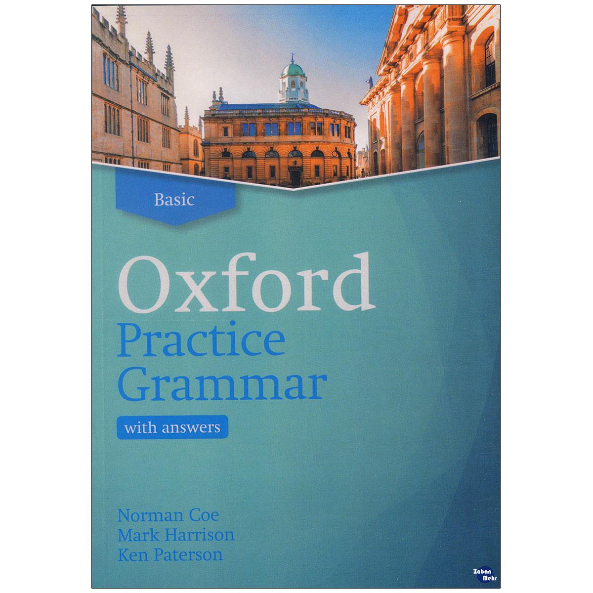 خرید                      کتاب Oxford Practice Grammar Basic اثر جمعی از نویسندگان انتشارات زبان مهر