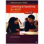 کتاب Improve Your Skills Listening and Speaking for IELTS 6.0-7.5 اثر Joanna Preshous انتشارات زبان مهر