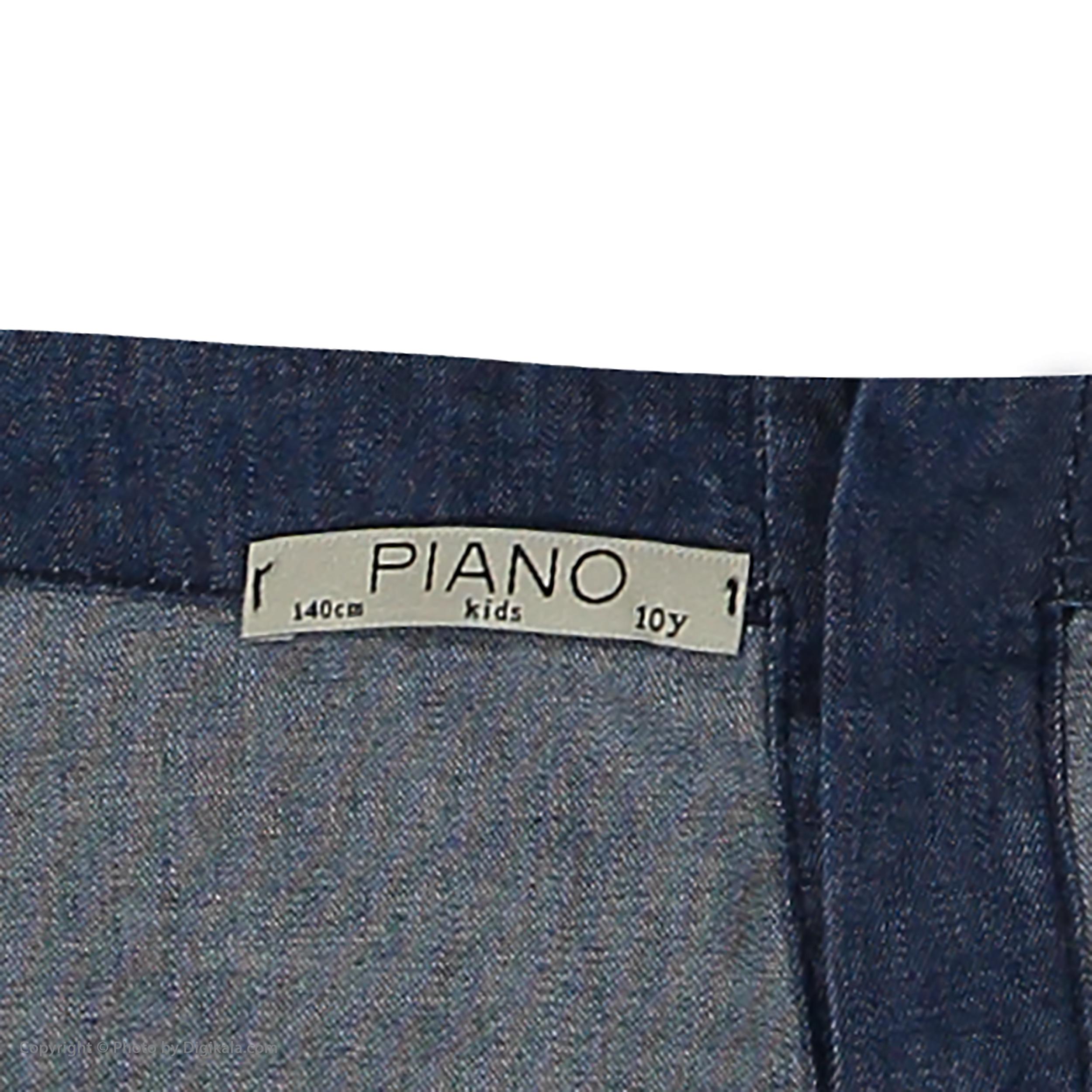 سرهمی دخترانه پیانو مدل 05818-59 -  - 4