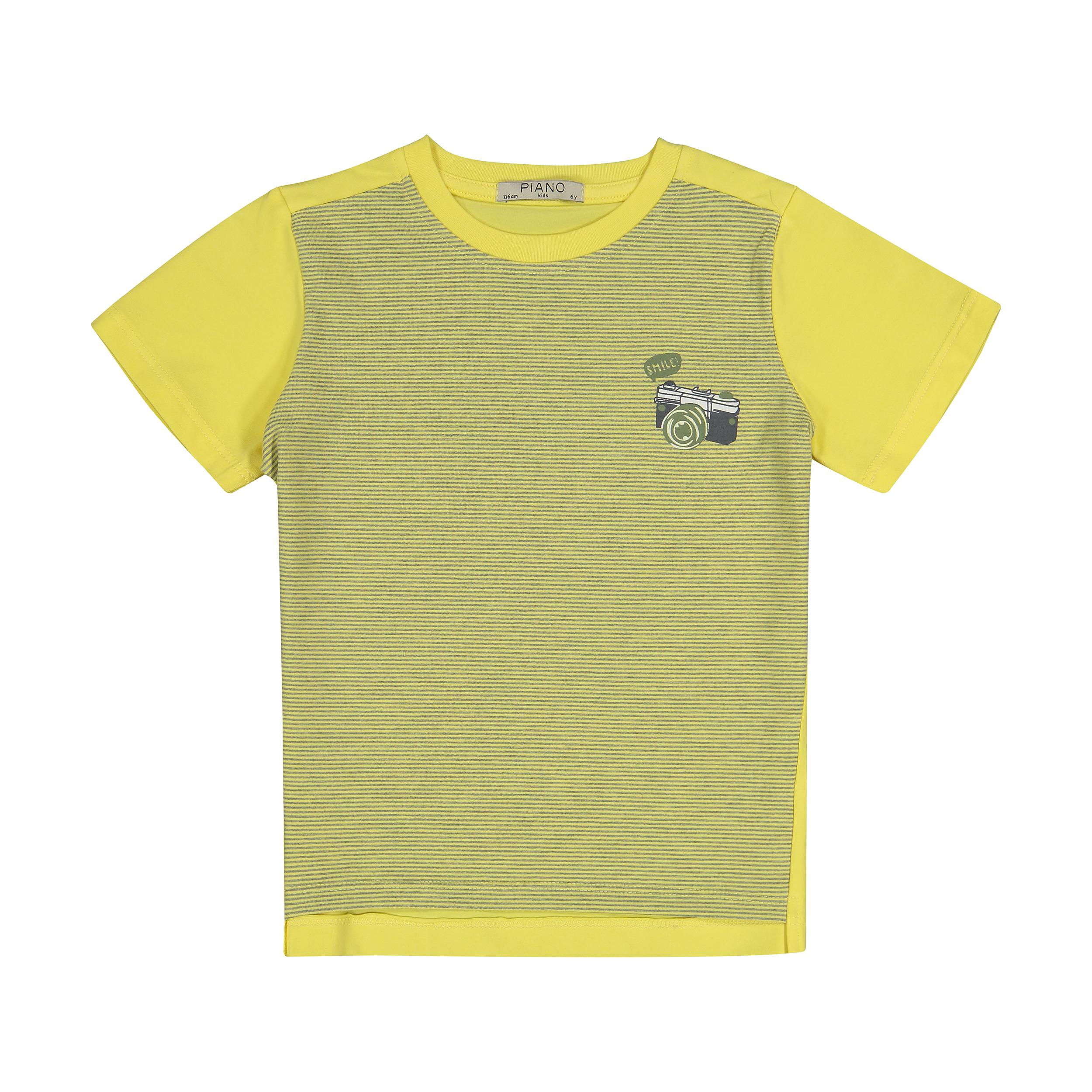 تی شرت پسرانه پیانو مدل 01523-16
