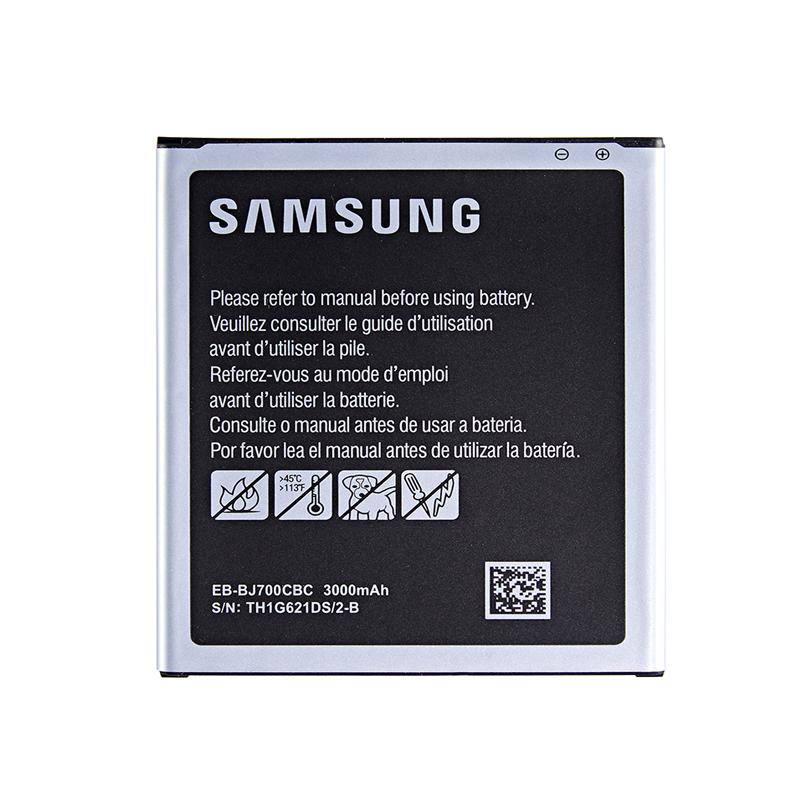 باتری موبایل مدل EB-BJ700CBC ظرفیت 3000 میلی آمپر ساعت مناسب برای گوشی موبایل سامسونگ Galaxy J7 2015              ( قیمت و خرید)