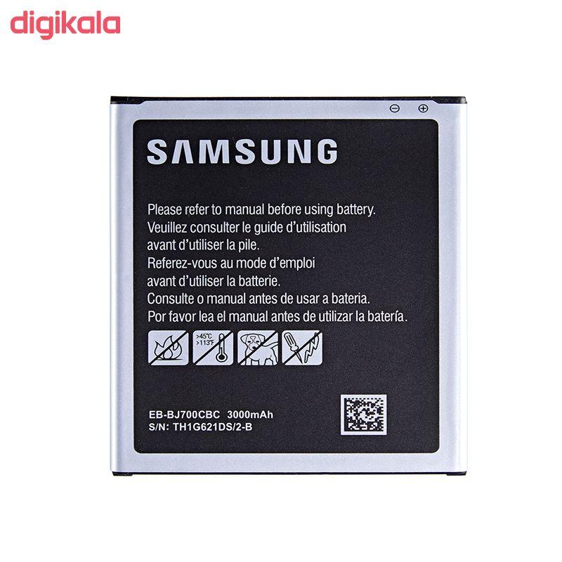 باتری موبایل مدل EB-BJ700CBC ظرفیت 3000 میلی آمپر ساعت مناسب برای گوشی موبایل سامسونگ Galaxy J7 2015 main 1 1