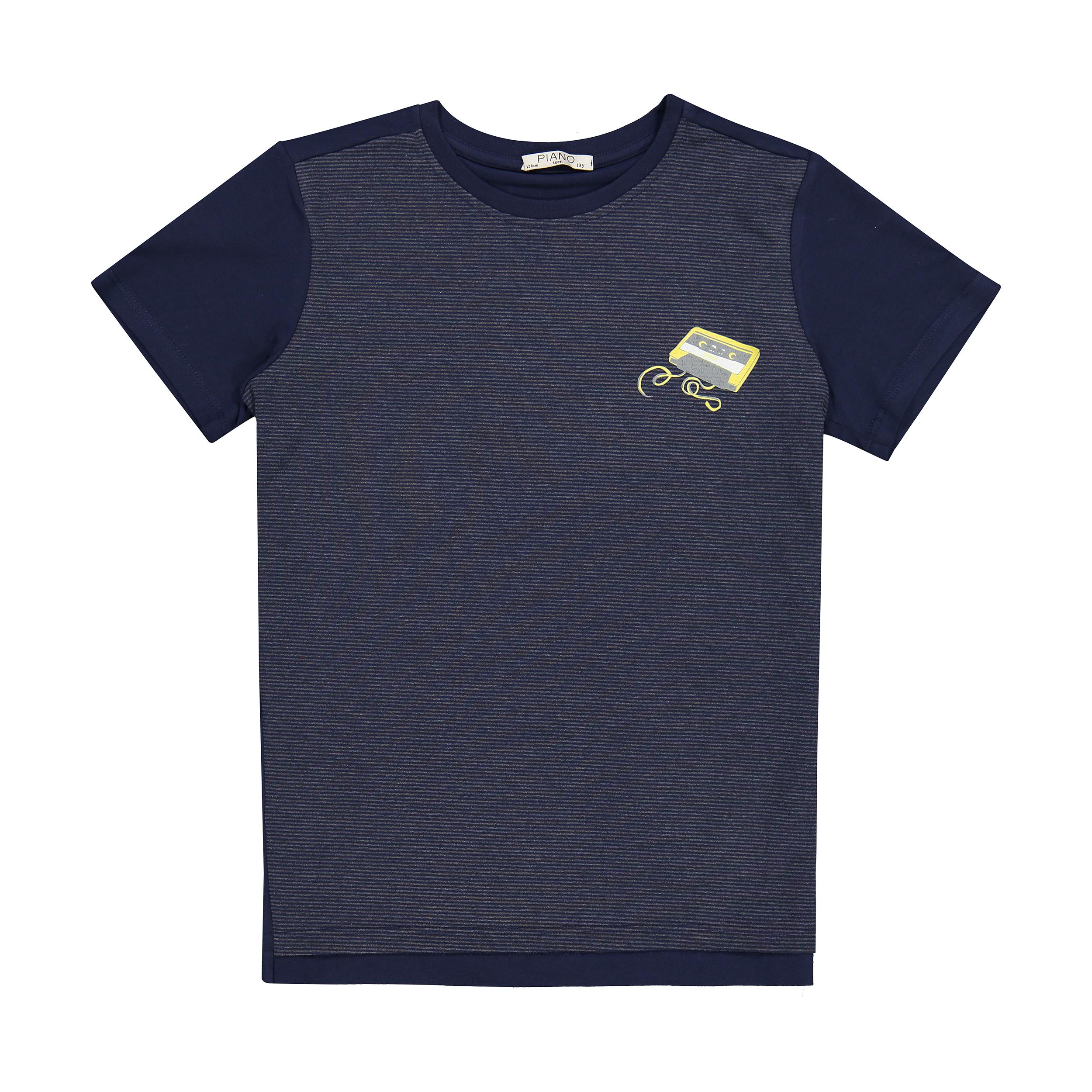 تی شرت پسرانه پیانو مدل 01523-59