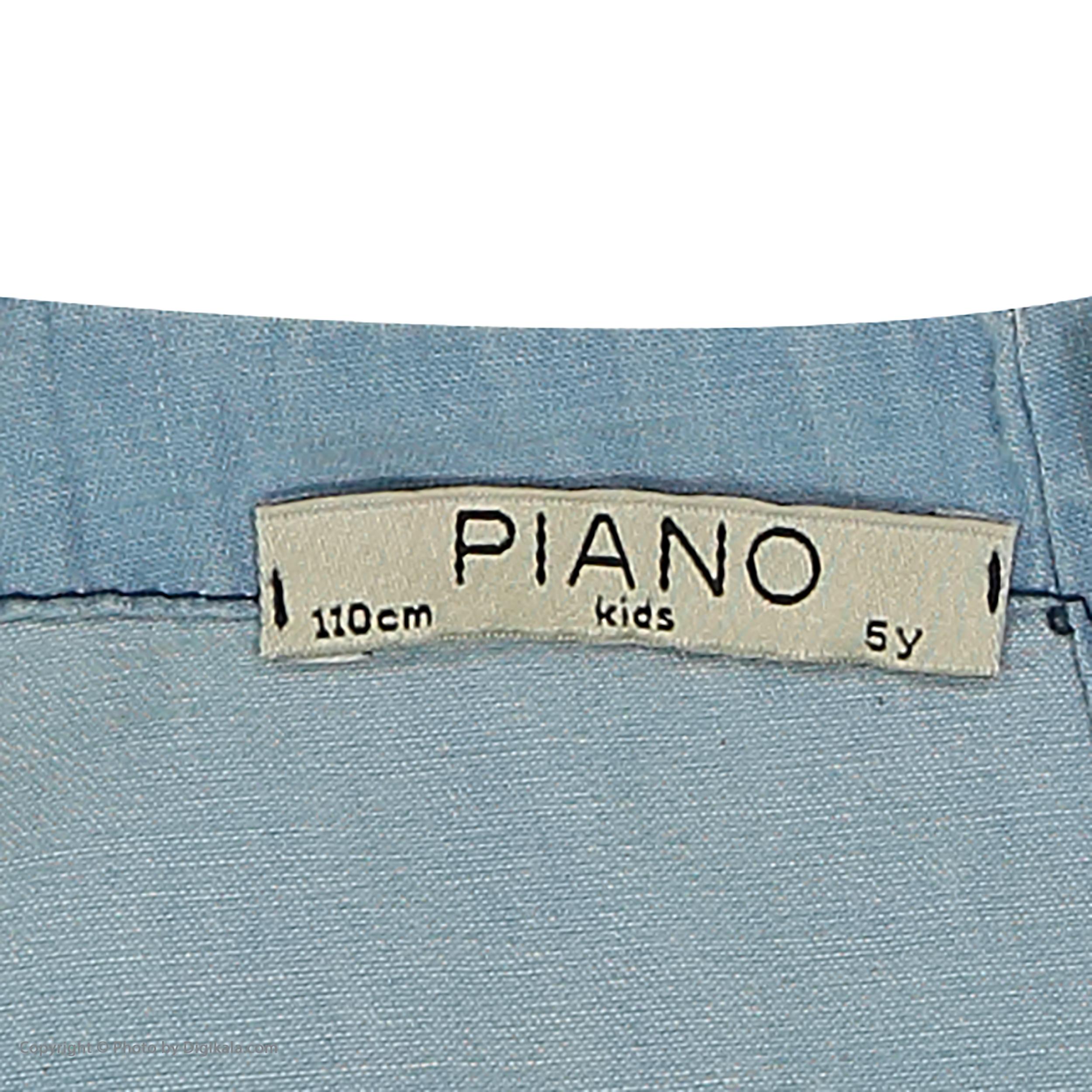 سرهمی دخترانه پیانو مدل 05817-58