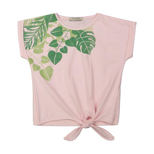 تی شرت دخترانه پیانو مدل 01403-81