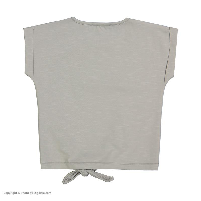 تی شرت دخترانه پیانو مدل 01403-93