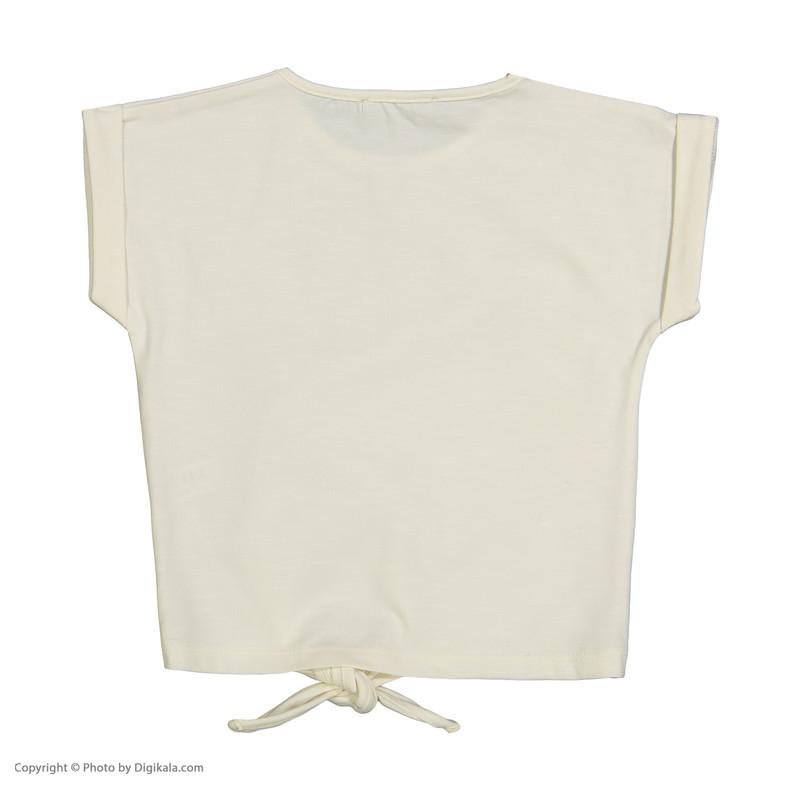 تی شرت دخترانه پیانو مدل 01403-05