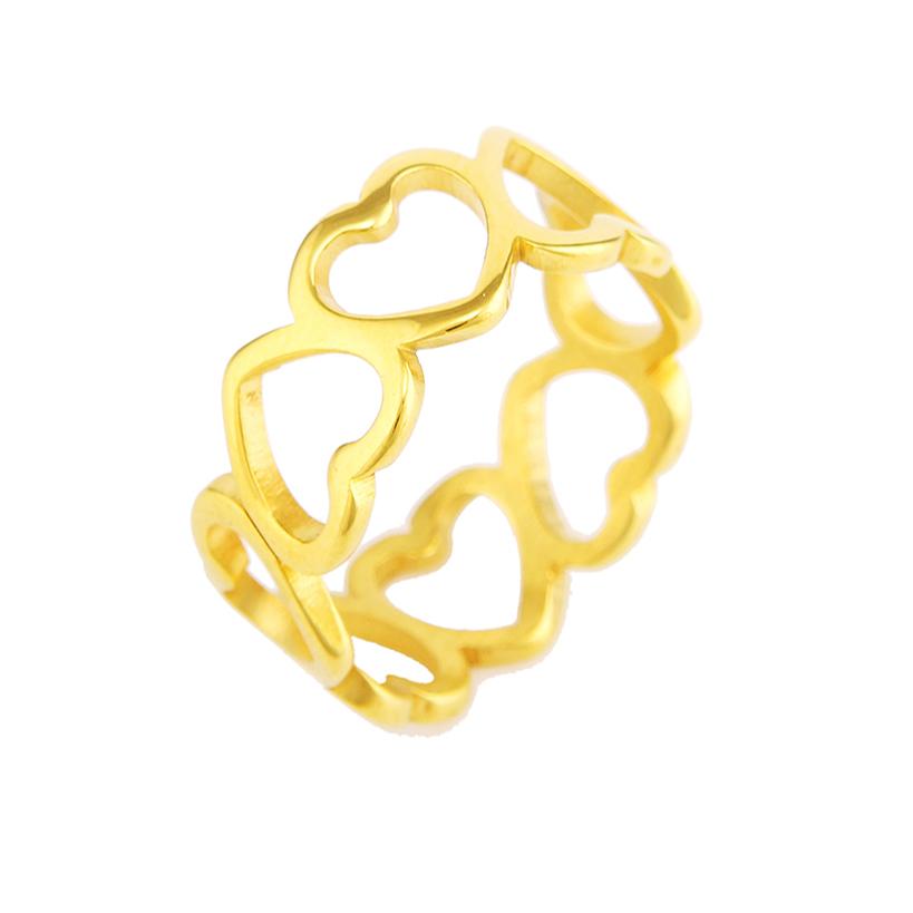 انگشتر زنانه طرح قلب کد R1081